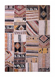 Teppe 133 x 190 cm (wilton) - Tibet Patch (multi)