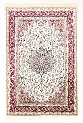 Wilton-teppe - Gårda Oriental Collection Kerman (hvit/rød)