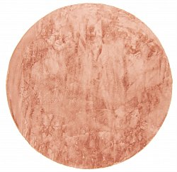 Runde tepper - Aranga Super Soft Fur (rosa)