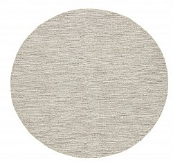 Runde tepper - Dhurry (beige)
