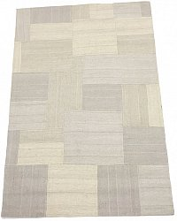 Patchwork Teppe - Superior new wool Patchwork (hvit)