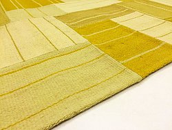 Patchwork Teppe - Superior new wool Patchwork (gul)