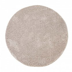 Runde tepper - Soft Shine (beige)